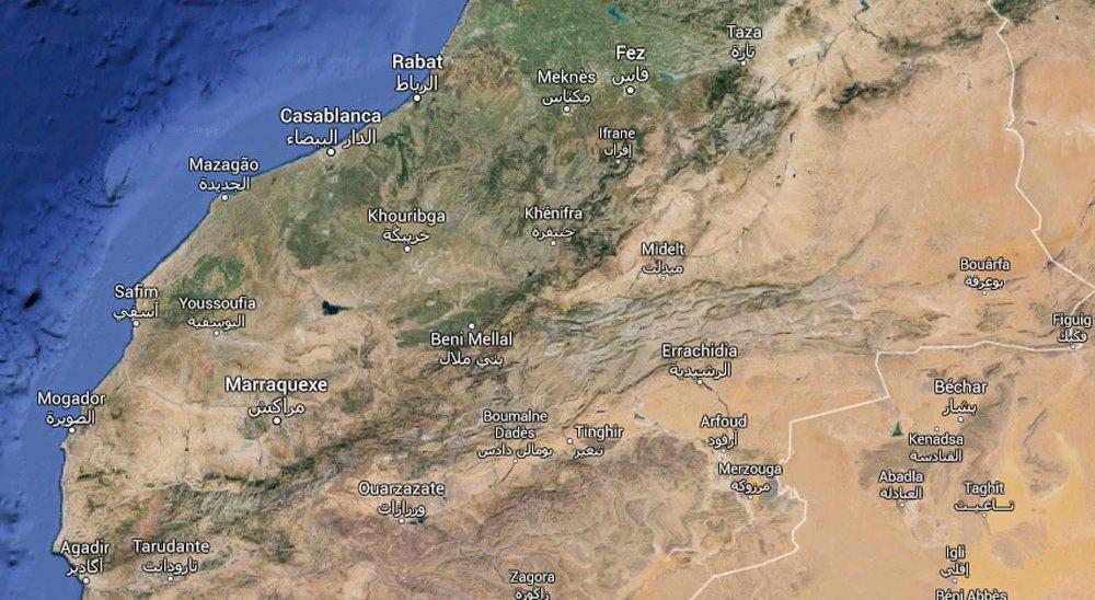Mapa clima Marrocos