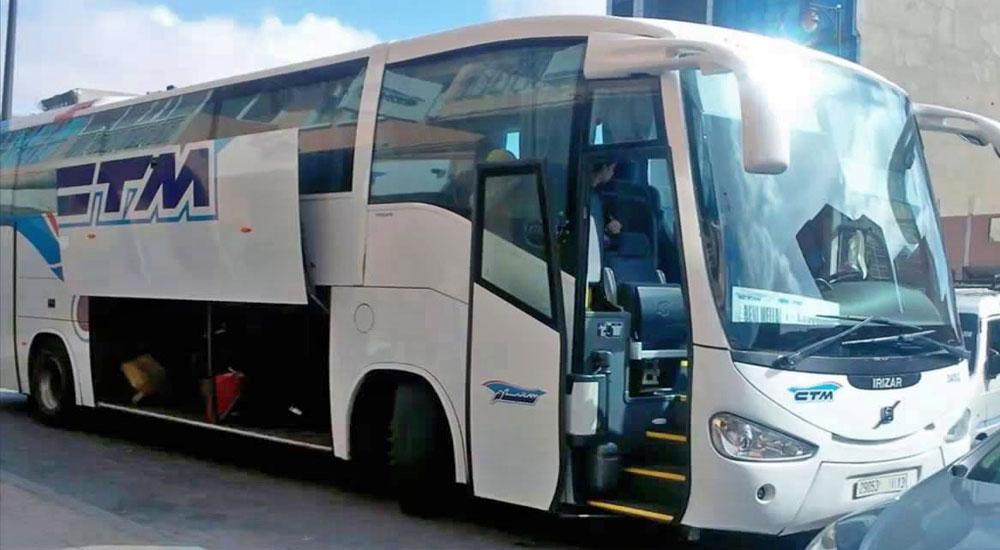marrocos autocarro onibus