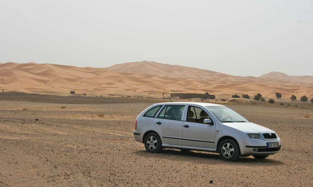 Carro em Marrocos