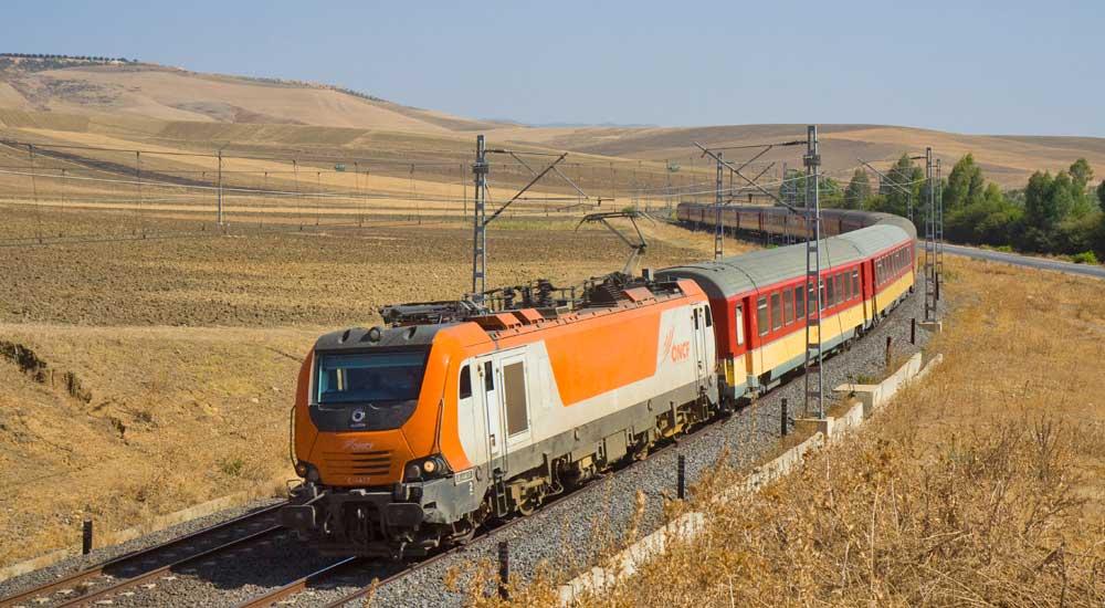 comboio em Marrocos