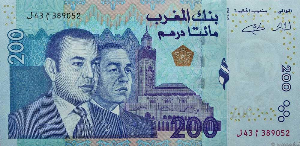 marrocos moeda dirham