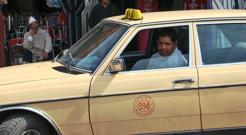 grand taxi marrocos