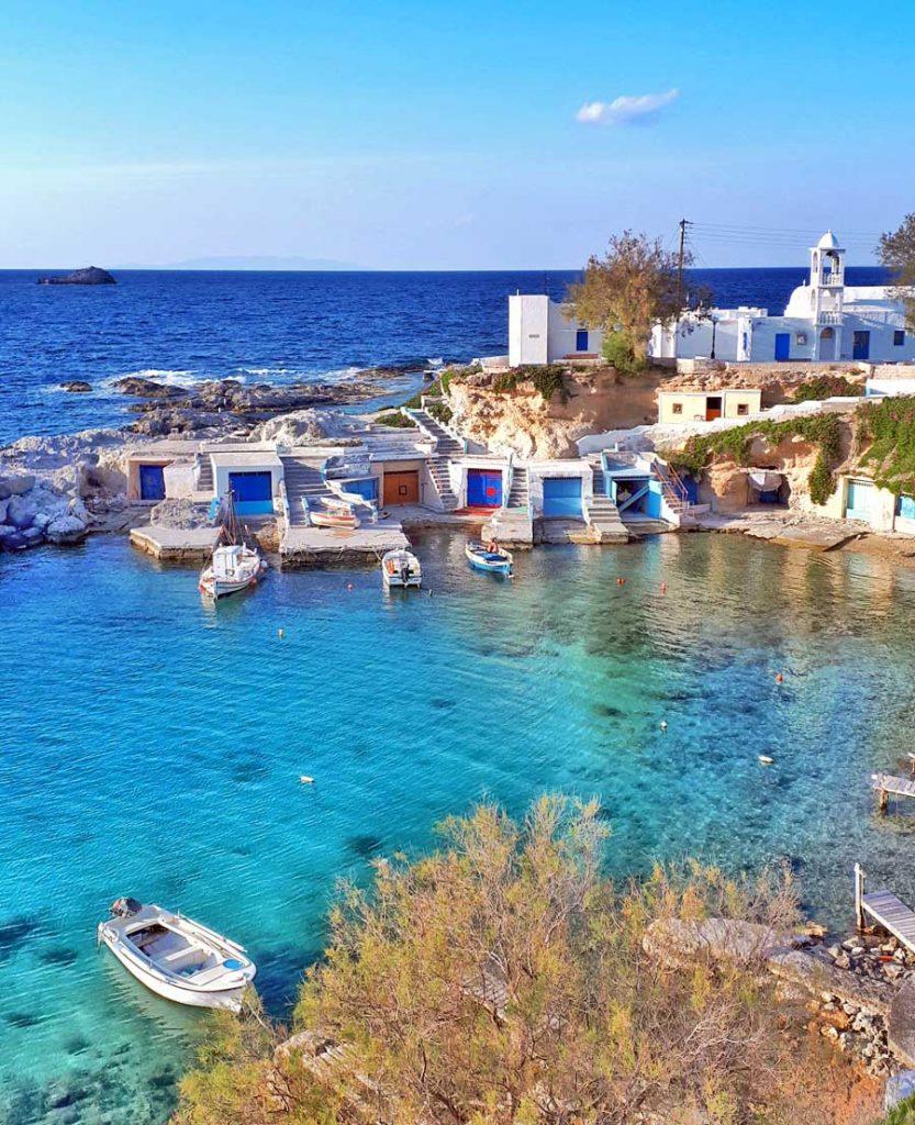 Mandrakia - Milos, Grécia