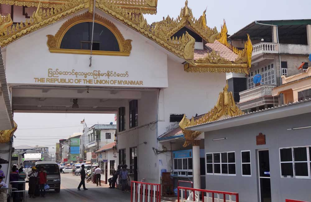 Fronteira Tailândia Myanmar