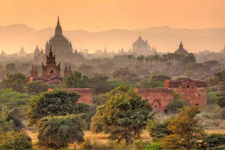myanmar templos