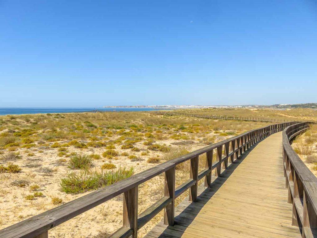 Passadiços praia de Alvor