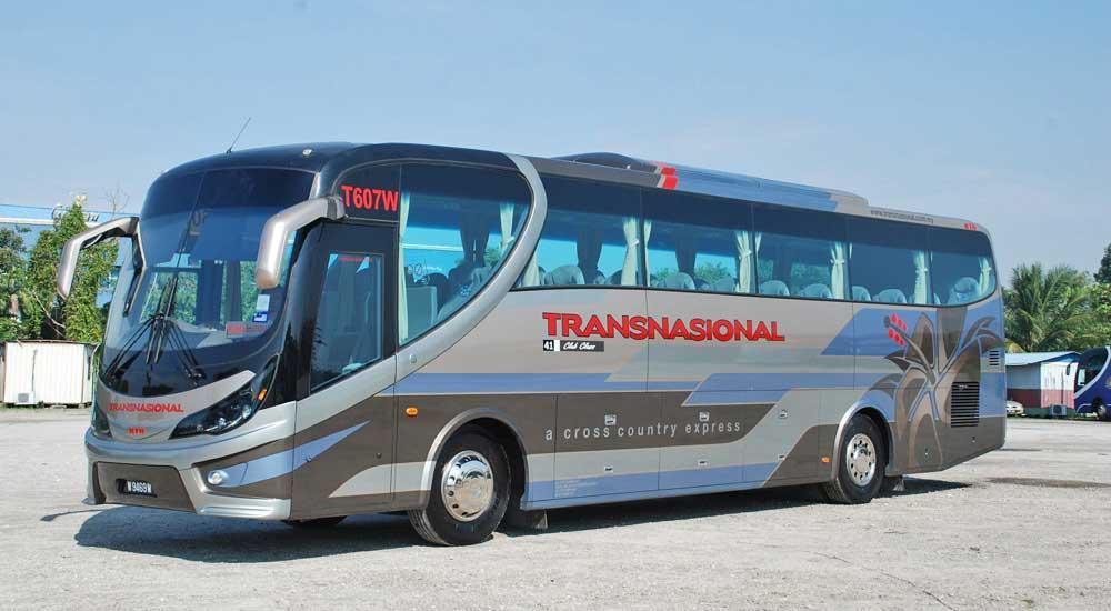 autocarro onibus malasia