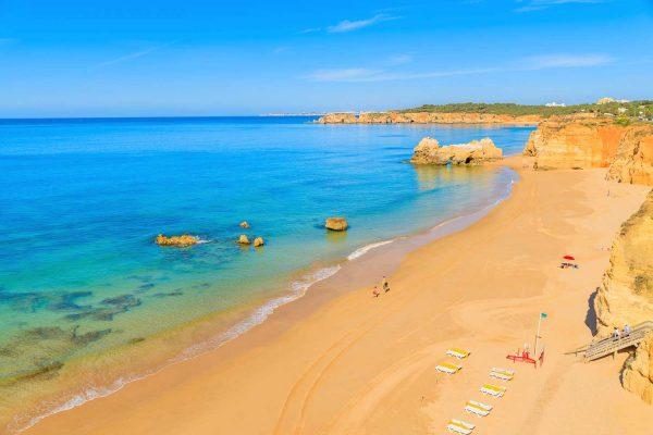 As melhores praias de Portimão