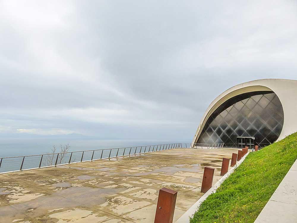 Auditório Oscar Niemeyer, Ravello