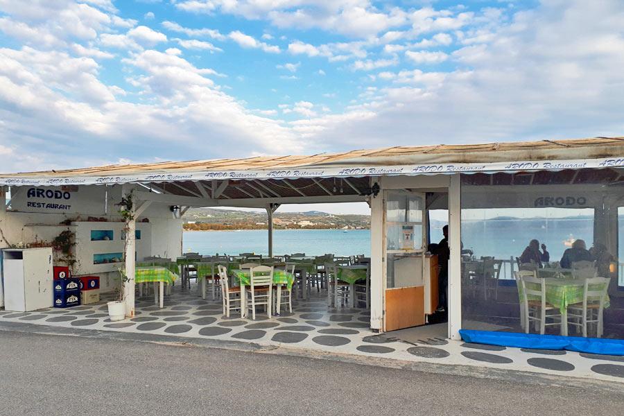 Restaurante Arodo, Milos
