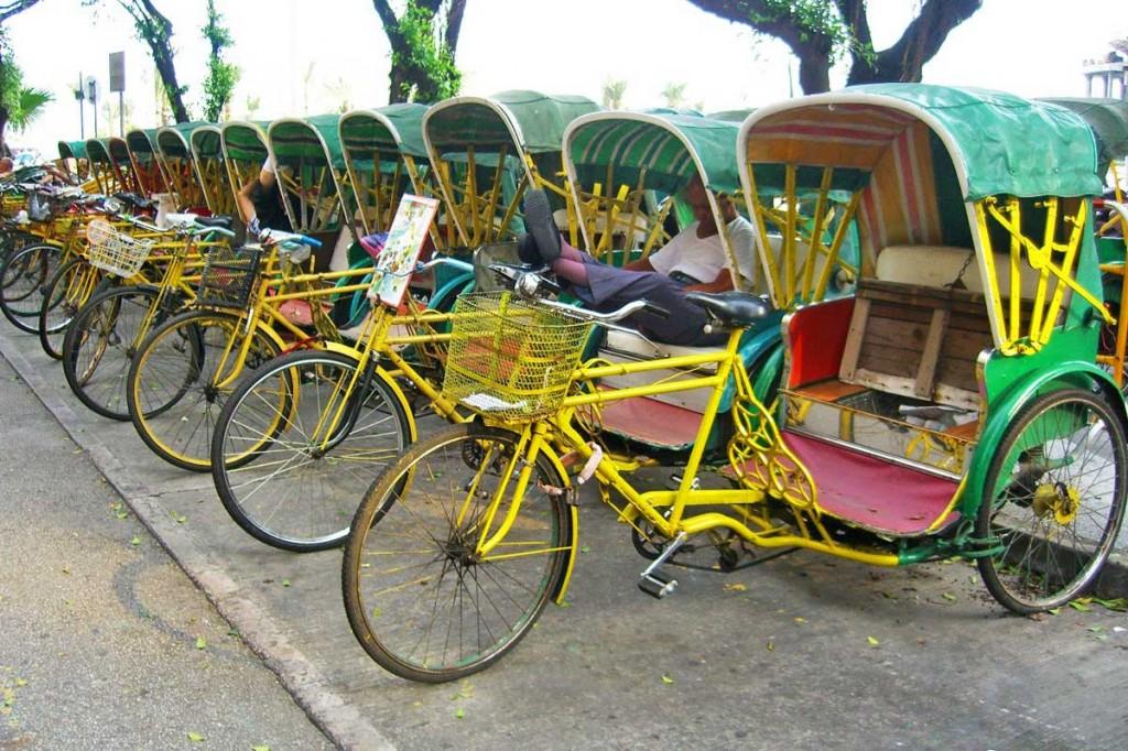 rickshaw macau