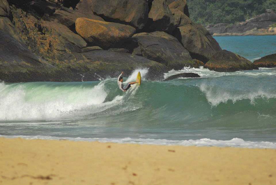 Surf em Ubatuba, São Paulo