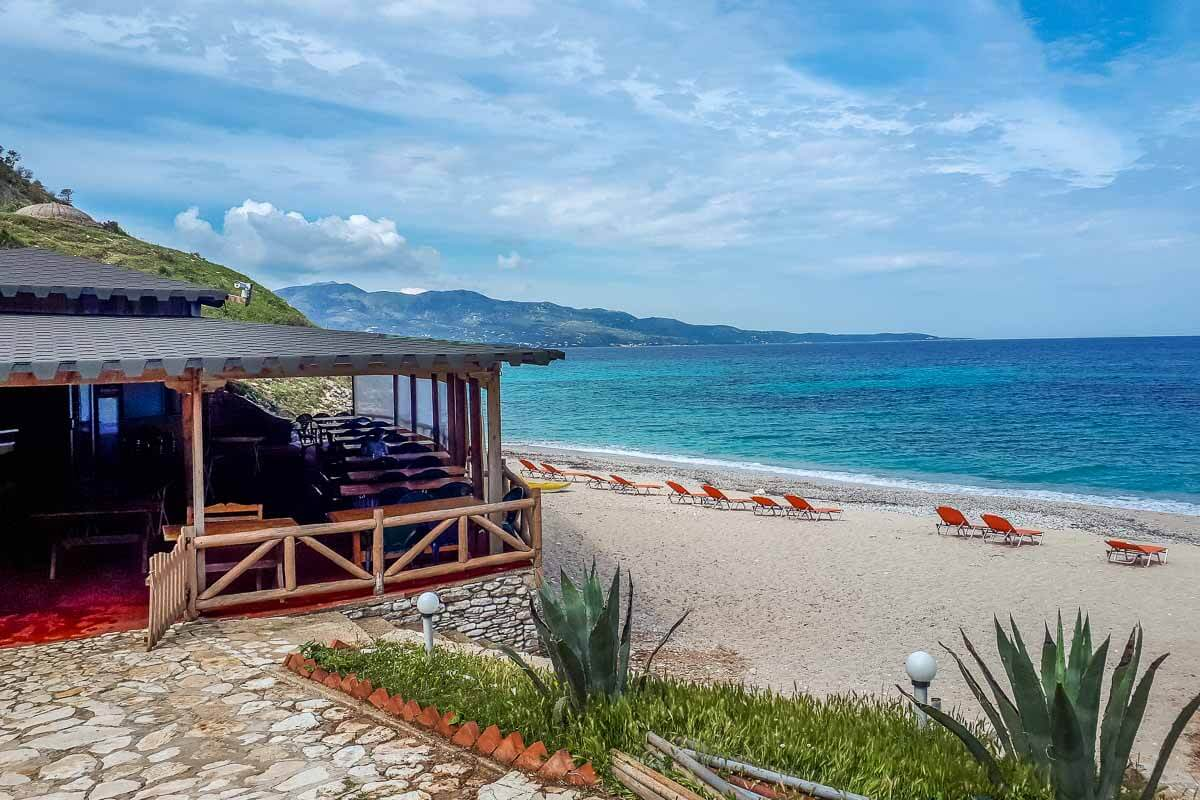 Mirror's Beach, Saranda