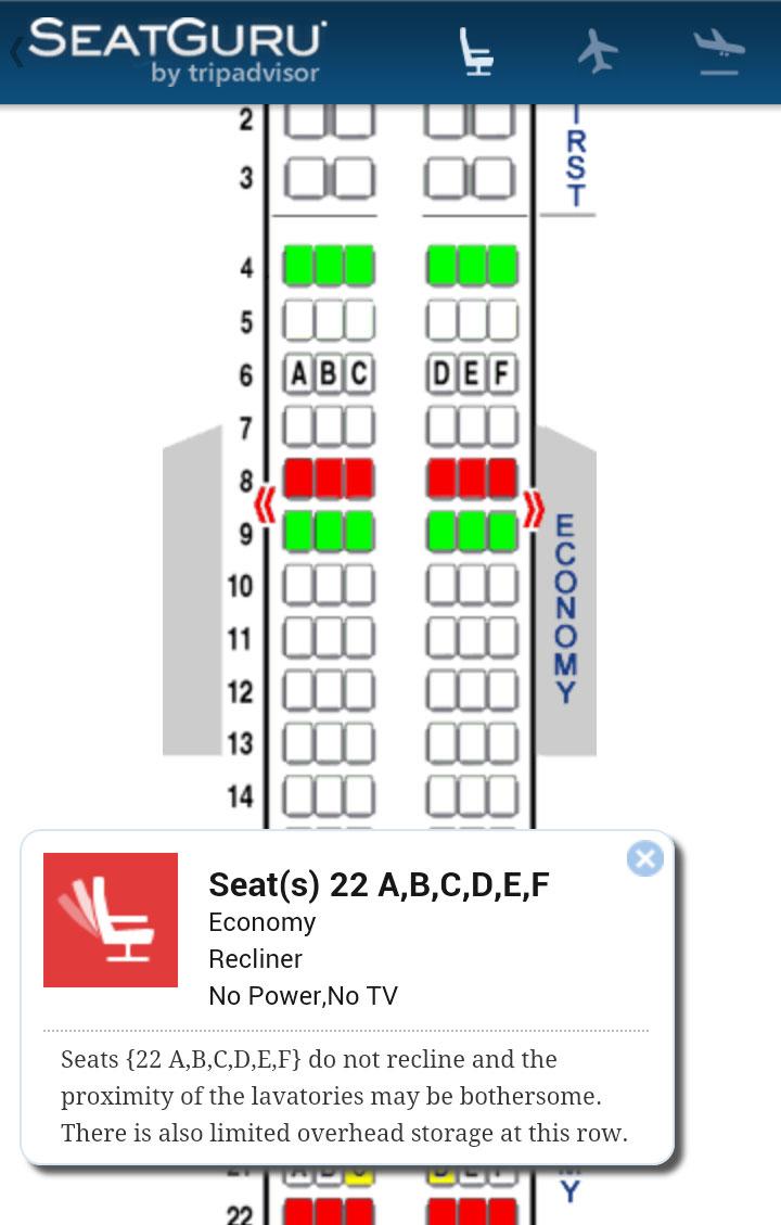 Seat Guru avião