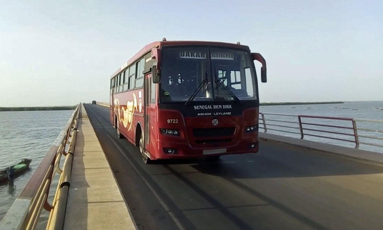 Autocarro em Dakar, Senegal