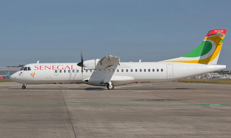 andar de avião no Senegal