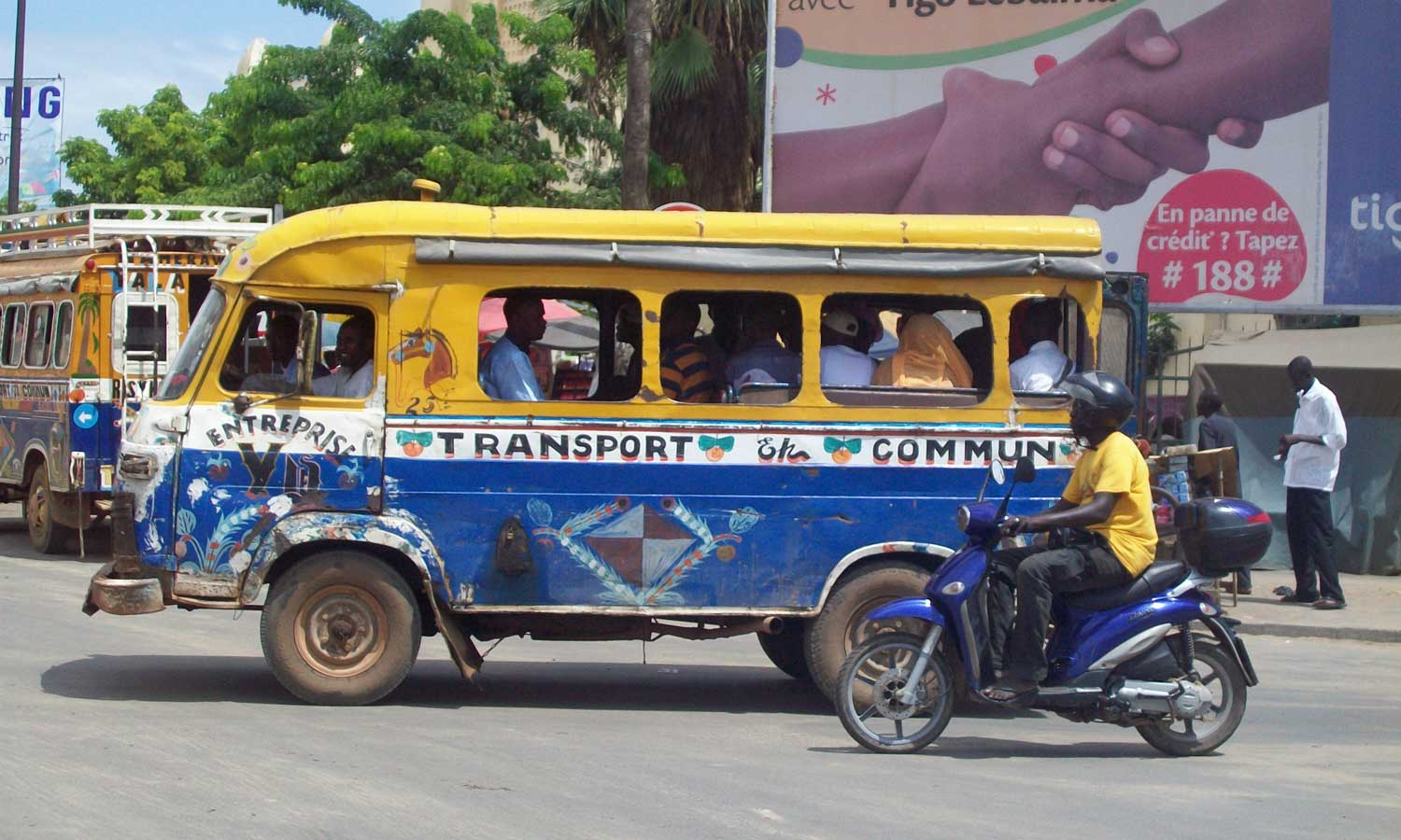 Car-rapide, Senegal
