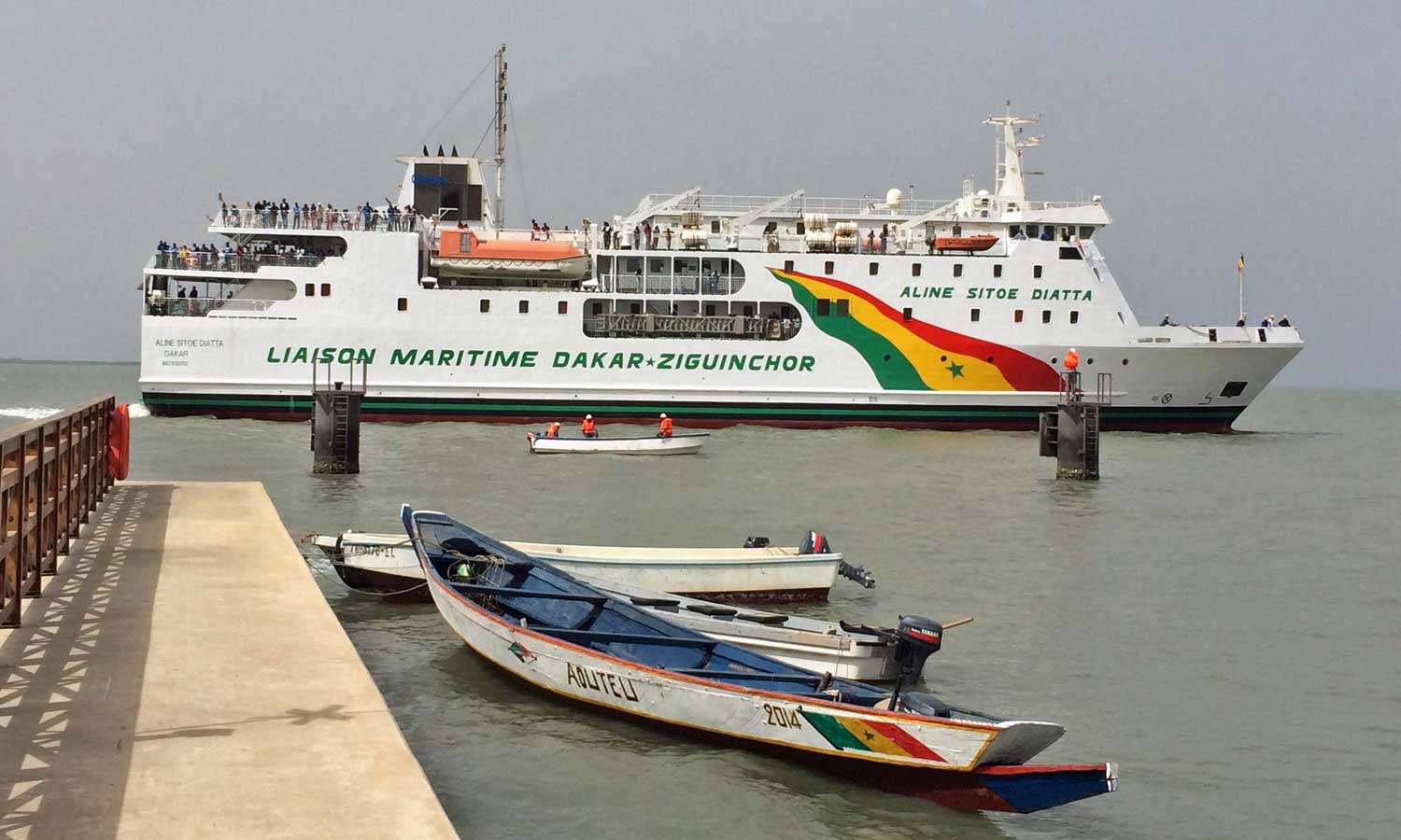 ferry boat Senegal