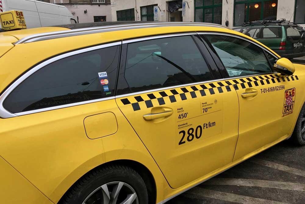 taxi budapeste