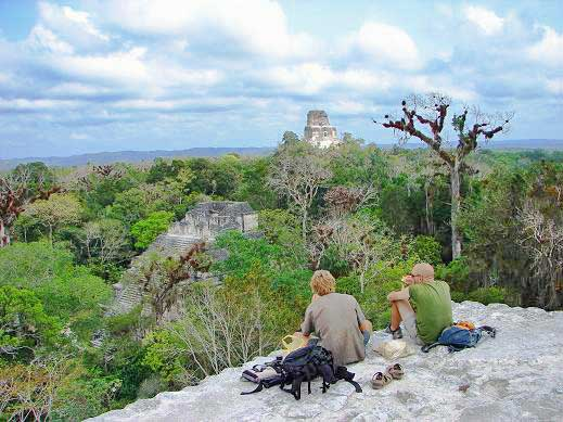 Tempo em Tikal, Guatemala