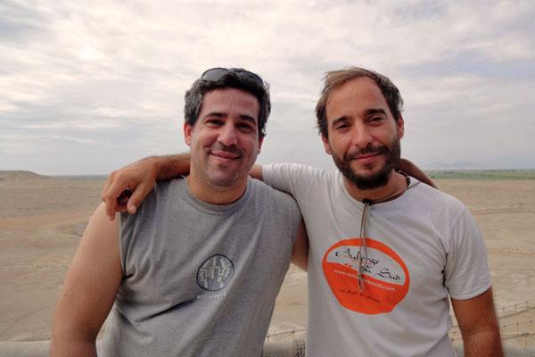 Andre e Joao, Peru