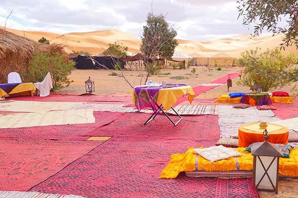 tendas deserto