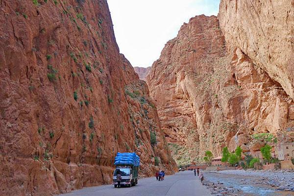 Tour Marrocos, Todra