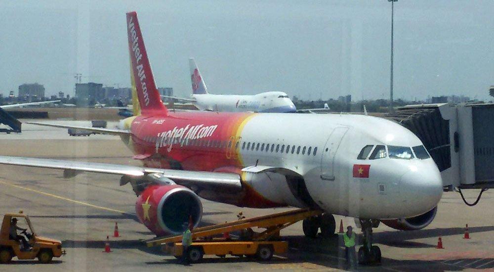 Avião Vietjet Vietnam