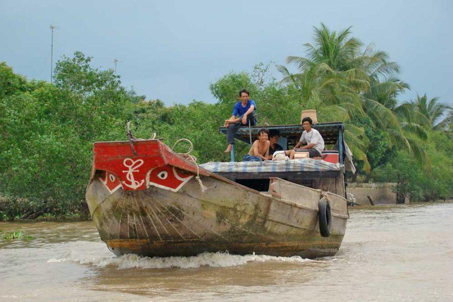 Vietnam barco